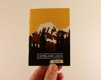 fanzine zine illustration Lumbe(a)rjack