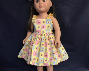 Sundress for 18 Inch Doll - American Made
