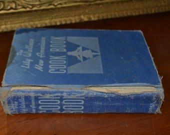 Vintage cookbook~Cookbook, Kitchen Decor~1940's Cookbook~Collectable Cookbook