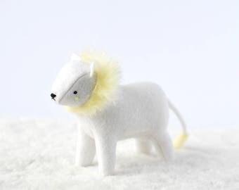 little white lion