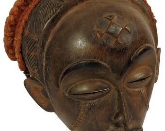 Chokwe Mask Mwana Pwo Angola Congo African Art 100955