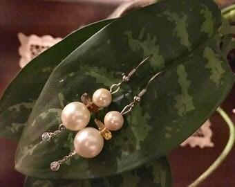 Heirloom Pearl Drop Earrings