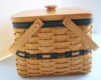 Longaberger, Basket, Harbor Basket, Collectors Club