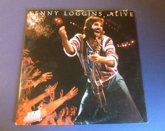 Kenny Loggins Alive Vinyl Record LP C2X 36738 Double Album Columbia Records 1980