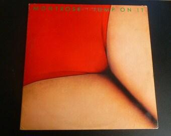 Montrose Jump On It Vinyl Record LP BS 2963 Warner Bros. Records 1976