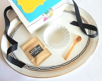 Facial Mask Mixing Dish and Face Mask Set | Clay Mask Mixing Bowl | Beauty Gift Set
