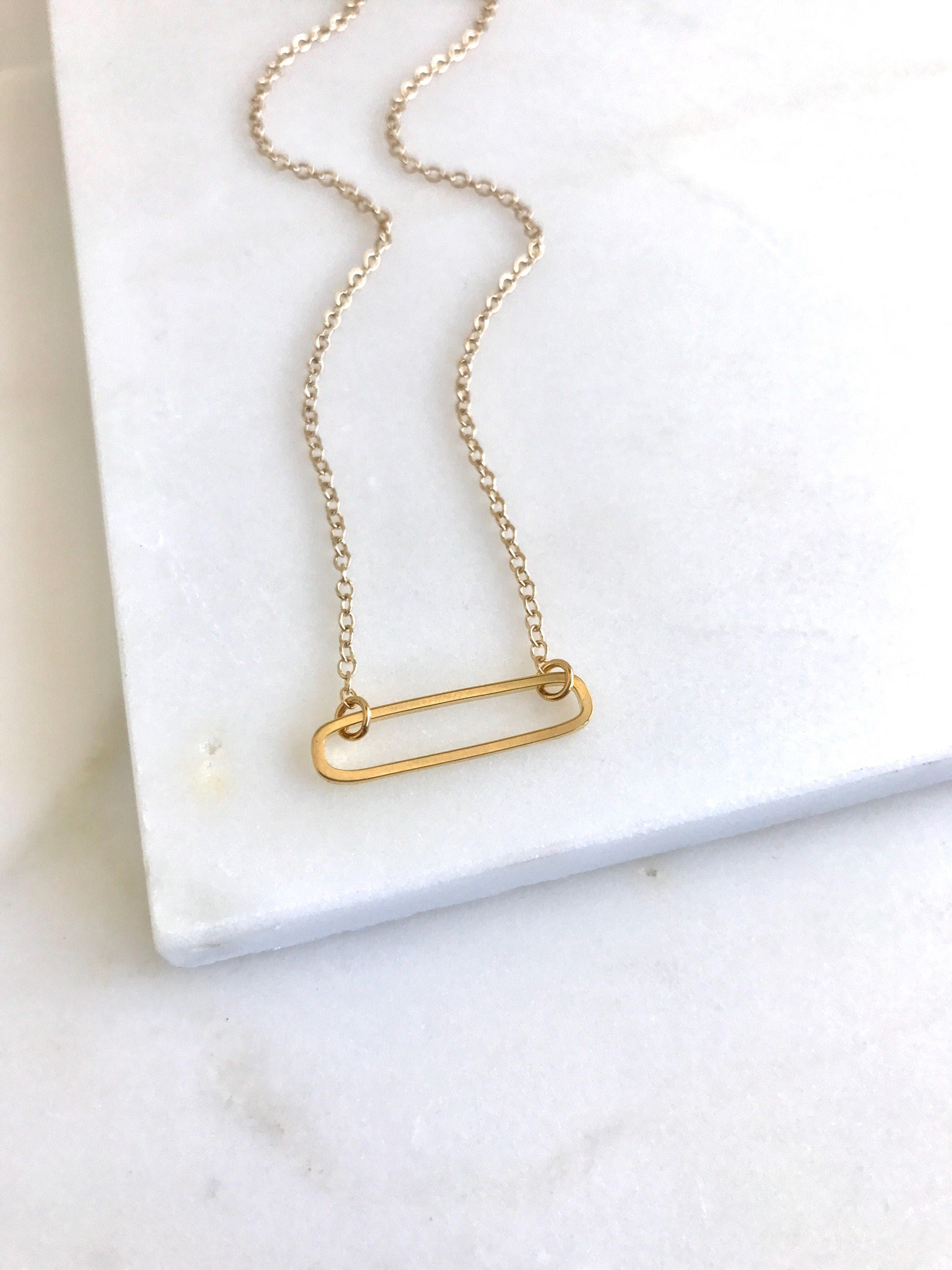 pendant handmade hammered necklaces bar gold necklace jewelry