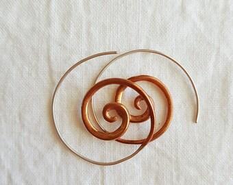 Cosmic Swirl Earrings