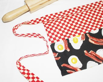 Bacon and Eggs Diner Style Child Apron