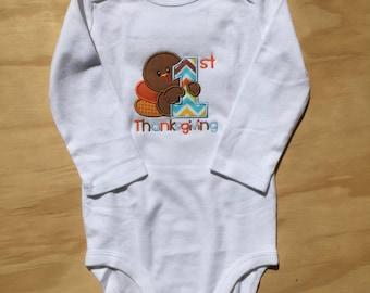 First Thanksgiving Baby Onesie