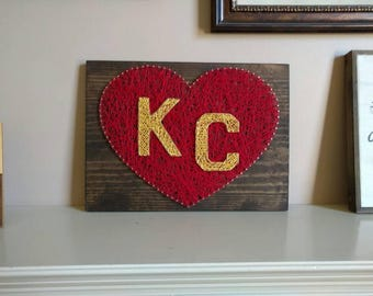 Kansas City String Art