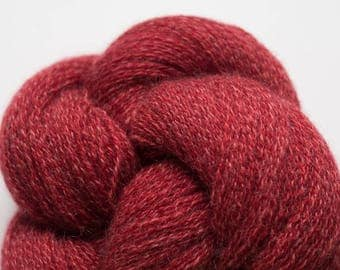 Carnelian Marl Recycled Cashmere Lace Weight Yarn, CSH00279
