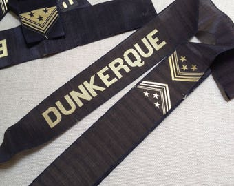French vintage Dunkerque ribbon