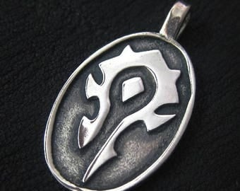 The Horde pendant (silver)