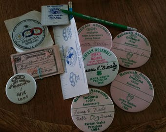 Collection of I.O.O.F. and Rebekah Items, Dated 1978 to 1991
