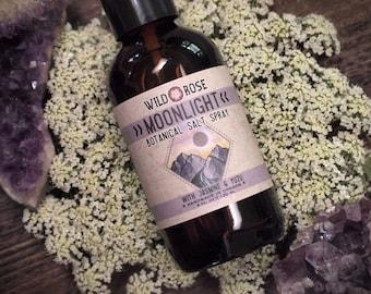 Natural Hair Perfume Spray - MOONLIGHT- Organic Aromatherapy Spray with Jasmine - 4oz//120ml