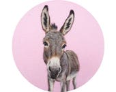 Donkey Portrait - Giclee Print 8 x 10 - HAM Portrait Collection