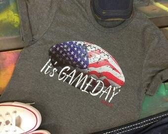 It's GAMEDAY Football NFL American t-shirt tee soft shirt