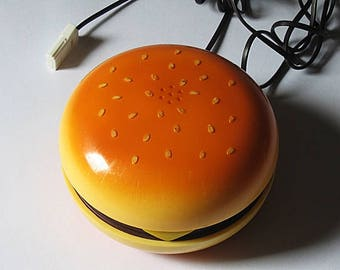 Novelty phone, Retro Telephone, Vintage Telephone, Hamburger Phone, 1970's Telephone, Man Cave Decor, Teenager,Cool Dude,WAS 60.00 NOW 45.00