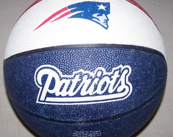 Vintage New England Patriots Basketball