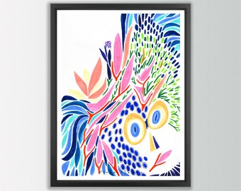 Colorful Wall Art. Abstract painting. Modern prints. Abstract print. Modern art print. Colorful Abstract art prints. Modern home decor