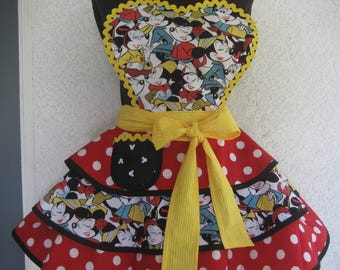 Minnie's Apron Womens Retro Pinup