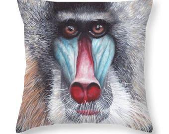Baboon Pillow