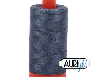 Aurifil Italian Threads-100% Cotton 40wt Piecing and Applique-Large Spool 1092 Yards-1158 Medium Grey