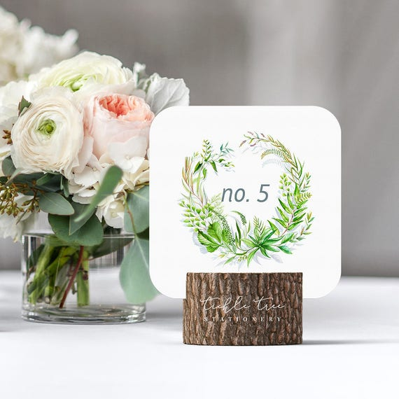Table Numbers - Wildwood (Style 13787)
