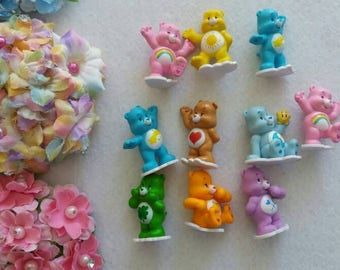 10 Care Bear Cupcake toppers