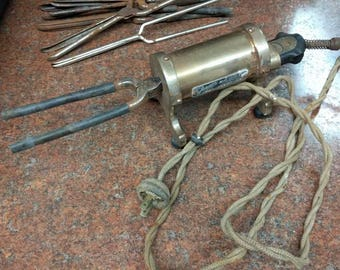 Antique Vintage Curling Irons and Electric Warmer
