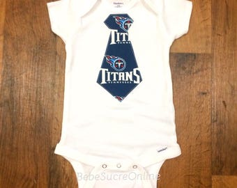 Tennessee Titans Boys Bodysuit or Toddler Shirt