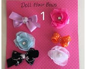 Doll Hair Clip Collection
