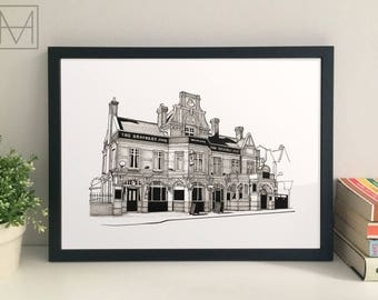 The Brockley Jack giclee print