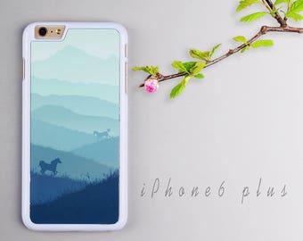 Grassland iPhone 6 plus case, White iPhone 6s plus Plastic case, iPhone 6s PC cover - HTPC6P27