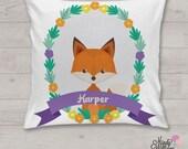 Fox - Personalised cushio...