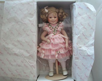 Vintage 1986 20th Century Fox Silver Screen Shirley Temple Doll