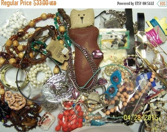 TWICE A YEAR, 25% Off Vintage Jewelry Lot 107. Junk and destash.