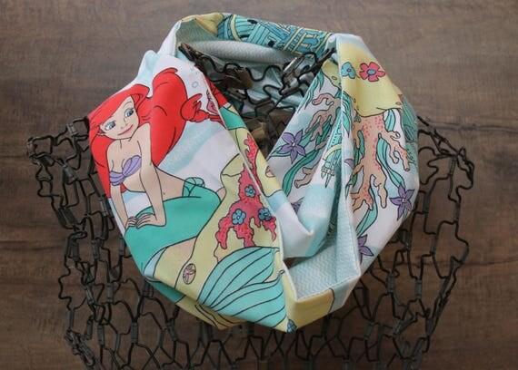 Disney Little Mermaid Infinity Scarf