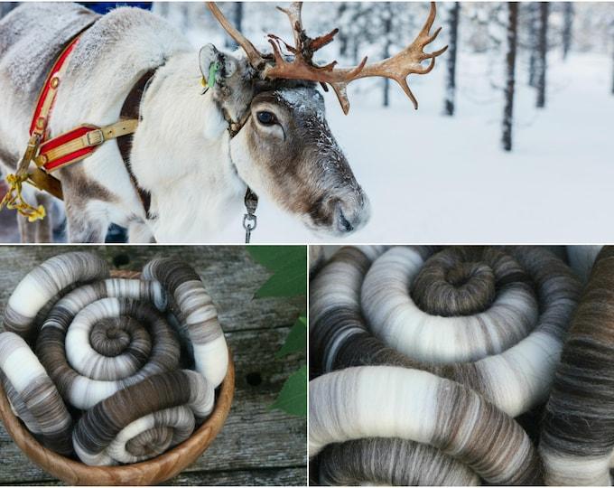 Reindeer Rolags - 100g