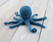 Mini octopus, crochet toy, Ready to ship