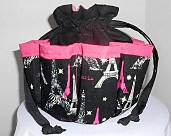 Eiffel Tower Paris France Bingo Bag/Organizer