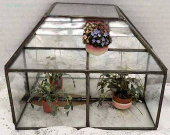Wonderful Stained Glass Shadow Box with Two Levels
