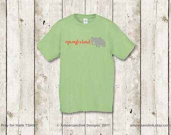 PrayforHank Bundle - T-shirt (S-M-L-XL) + Magnet/Keychain + Nursery Print (4 Designs)