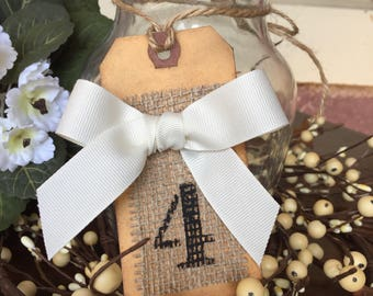 3 Table Numbers Wedding Table Numbers Rustic Wedding Barn Wedding
