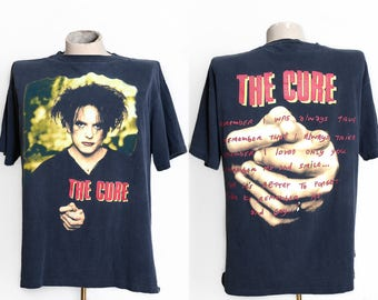 1996 THE CURE Mood Swings 90s Tour Concert T Shirt