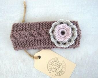 Newborn Headband  -flower headband