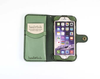 iPhone 6 (s) Leather Phone Case Wallet / sale / clearance / iphone 6 case / iphone 6s wallet/ iphone case / iphone leather