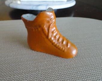 Miniature Shoes Boots Porcelain vintage