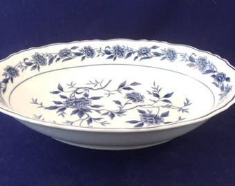 Blue Chatham By Symco, Large Oval Vegetable Bowl